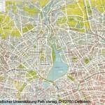Stadtplan von Hamburg - 1945