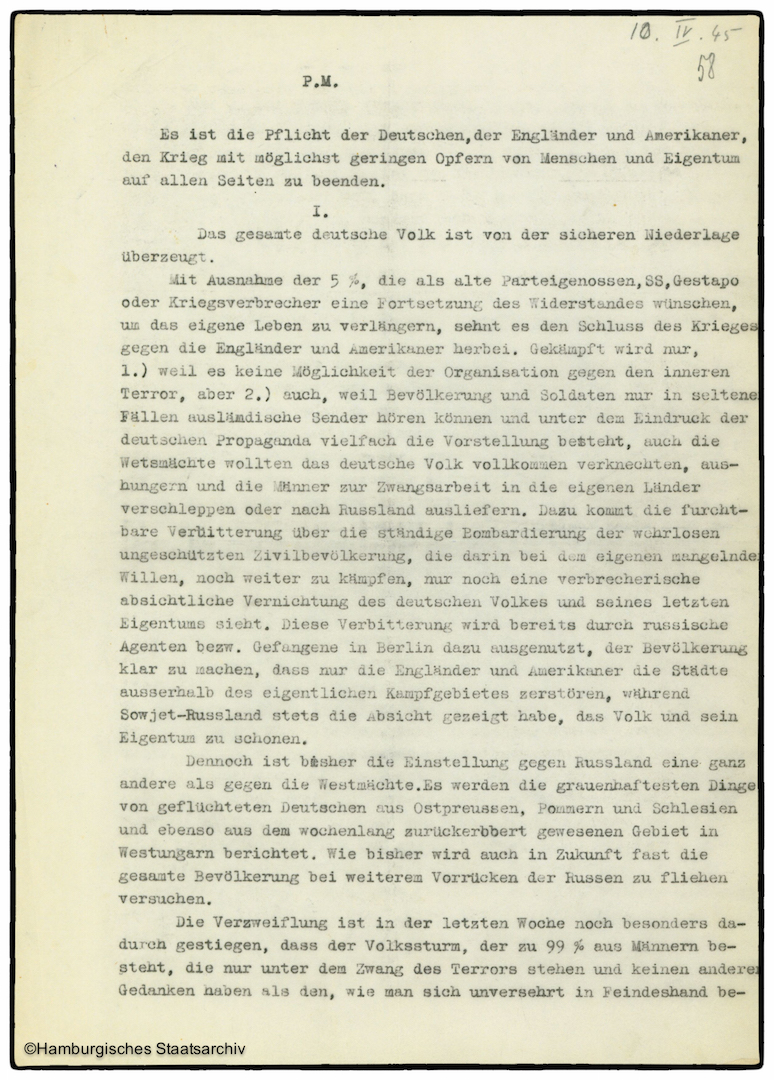Erinnerungen von Heinrich Riensberg, Schiffahrts-Attache der deutschen Gesandtschaft in Stockholm - Teil sieben
