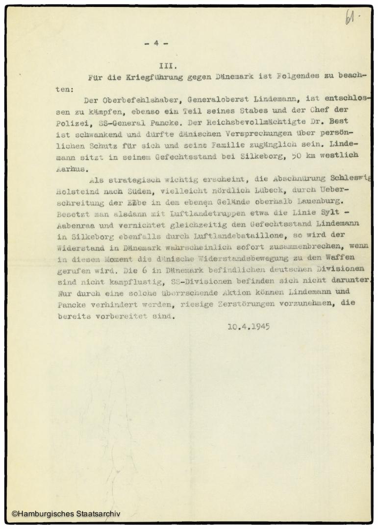 Erinnerungen von Heinrich Riensberg, Schiffahrts-Attache der deutschen Gesandtschaft in Stockholm - Teil zehn