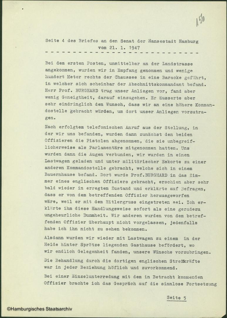 Albert Schäfer über die Kapitulationsverhandlungen - Teil vier