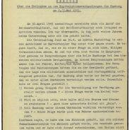 Bürgermeister a.D. Wilhelm Amsinck Burchard-Motz über die Kapitulationsverhandlungen