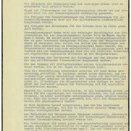 Protokoll der Senatssitzung vom 8. Mai 1945