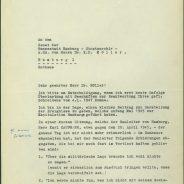 Albert Schäfer über die Kapitulationsverhandlungen